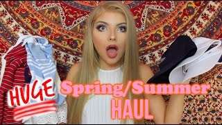 HUGE Spring/Summer Haul 2016 Ft. SheInside, Brandy Melville, Pacsun