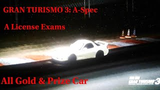 Gran Turismo 3: A-Spec - A License Exam (Gold & Prize Car)