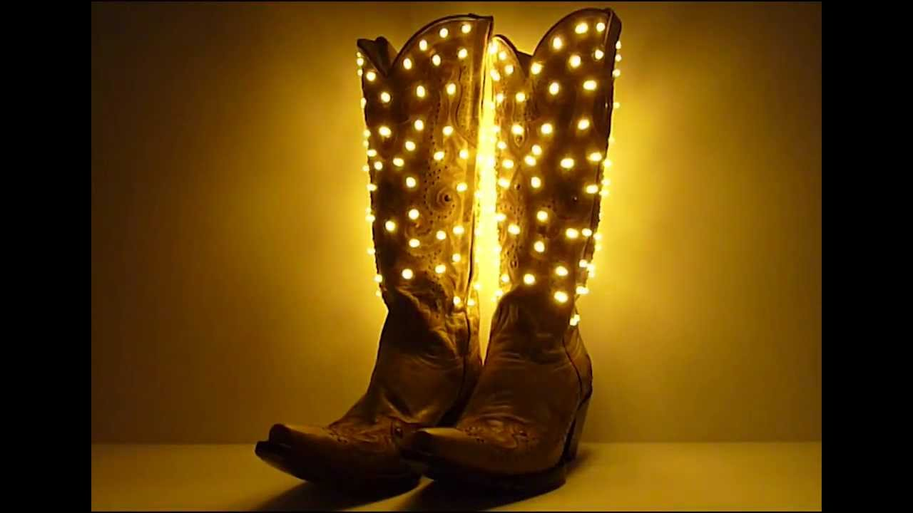 Light Up Cowgirl Boots By Neon Nightlife Inspired By