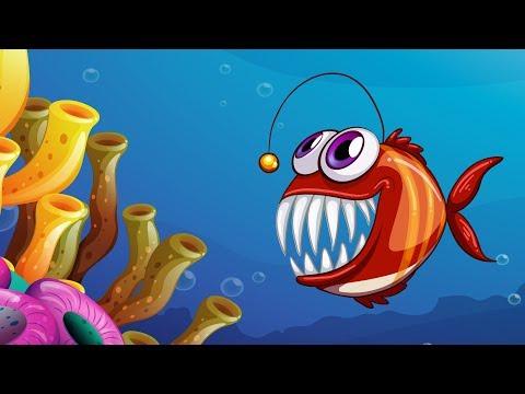 Развивающий мультфильм про морских животных