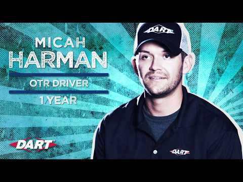 Truck Driving to Success: Being a Company Driver at Dart Transit Co. | Micah H.'s Story