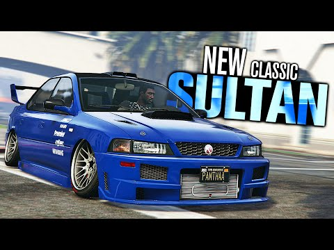 GTA 5 Online - NEW Sultan Classic Customization! (Diamond Casino Heist)