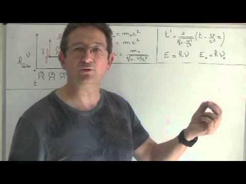 Relation de De Broglie et équation de Schrodinger