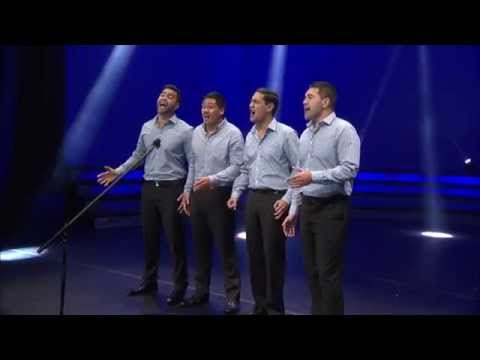 New Zealand's national anthem God Defend New Zealand sung by Musical Island Boys