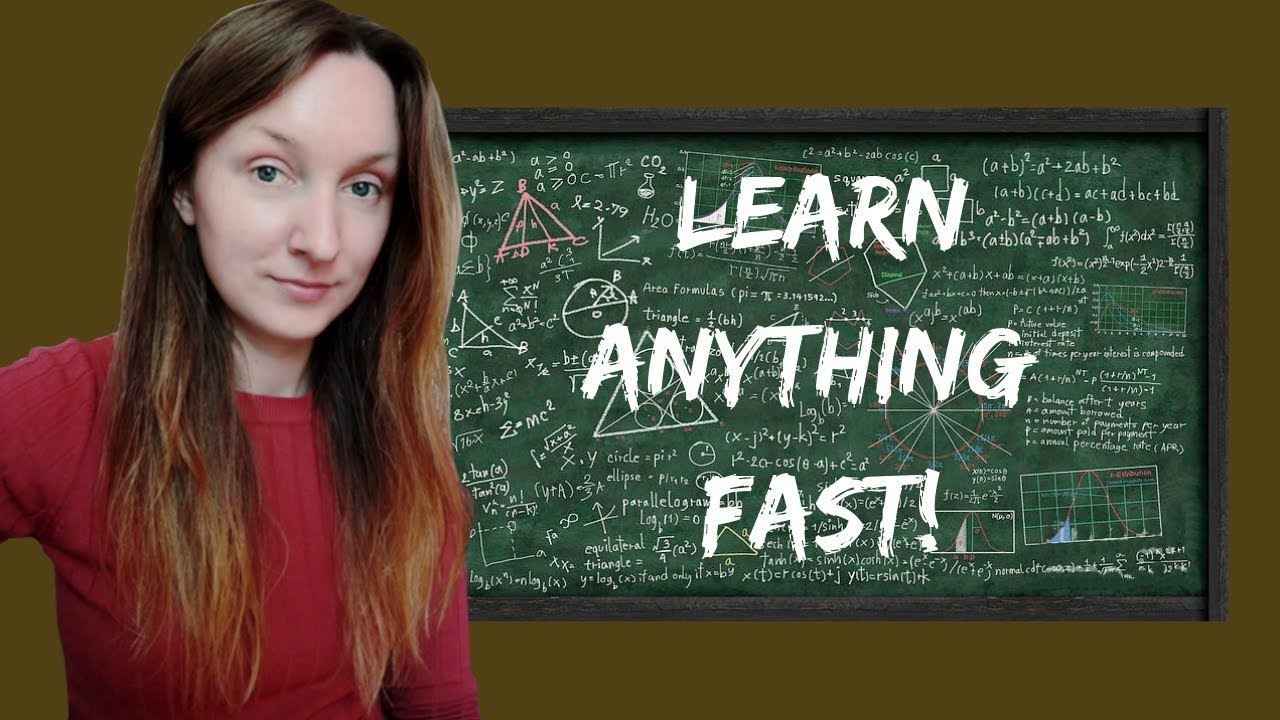 Two Requirements to Learn Anything Fast - Simona Rich