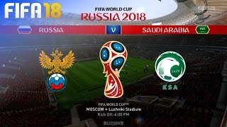 FIFA 18 - Russia 2018 World Cup Fixtures ⚽️