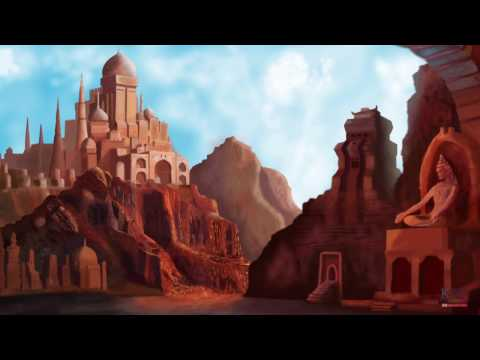 Landscape Digital Painting in photoshop