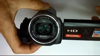 camera video sony hdr pj530 review
