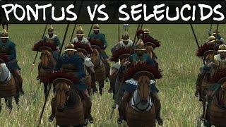 Total War Rome 2 Online Battle 177 Pontus vs Seleucids