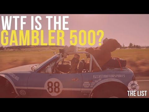 Driving a $500 junker in a 500 mile off-road rally race | The List #0500