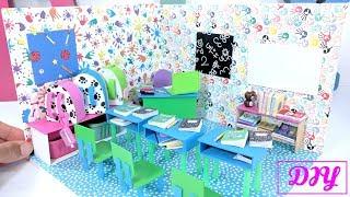 DIY Miniature Classroom and School Supplies: Back 2 School!