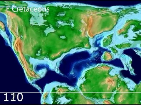 Plate Tectonic Evolution of the North Atlantic: Scotese Animation