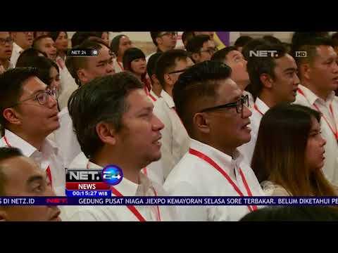 Jelang Asian Games 2018, Ratusan Pesohor Diundang Ke Istana NET24