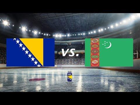 IIHF World Championship Div III - Qualifications - BiH vs.Turkmenistan