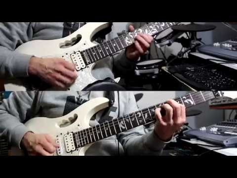 Metallica - Motorbreath 1st solo, Demo, Lesson, Tab and Backing Track (HD)