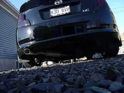 scion tc 2011 custom catback exhaust youtube. Black Bedroom Furniture Sets. Home Design Ideas