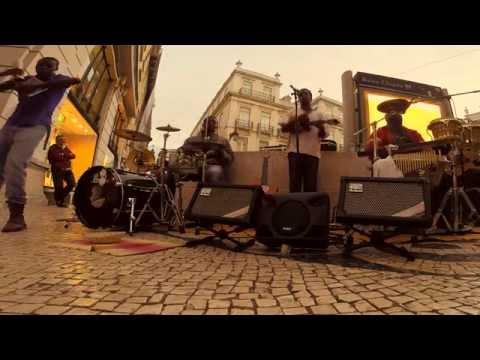 Lisbon Music Street Performers Mistiçu ~ Ribeirao Zinha