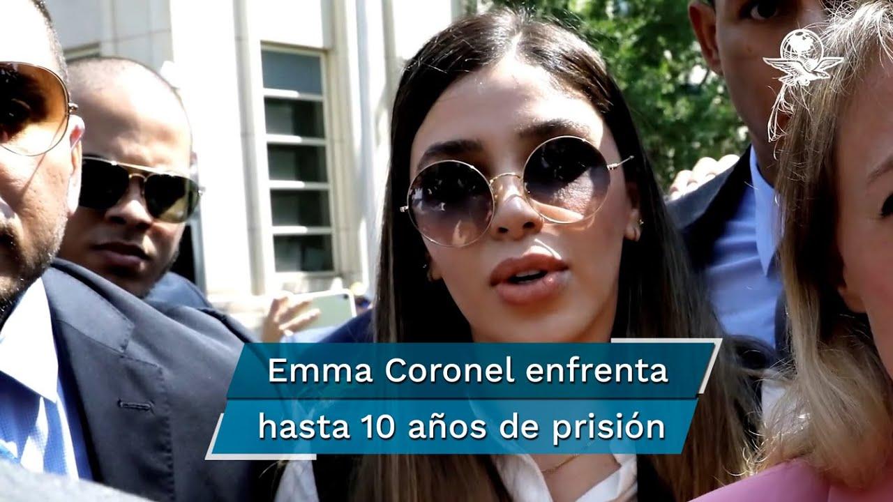 Emma Coronel permanecerá detenida en EU, dictamina juez tras primera  audiencia - YouTube
