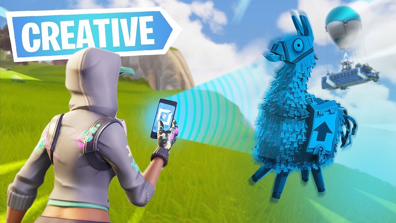 New Creative Mode For Building In Fortnite Youtube