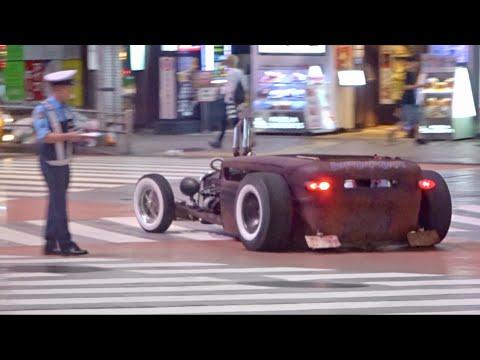 【渋谷】ローライダー他カスタムカー, スーパーカーがたくさん通過/Lowrider, Tuned car, Supercars arriving in Shibuya.