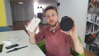 iPhone 8 Plus ❤️   Samsung kablosuz şarj istasyonu!