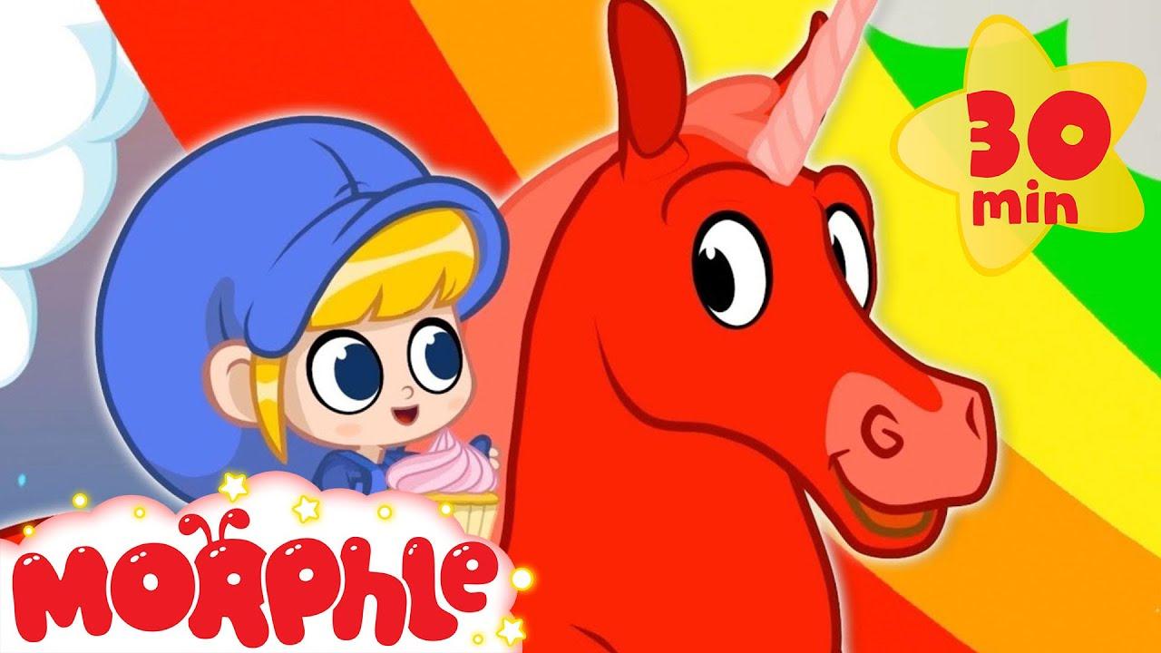 Mila and Morphle's Rainbow Unicorn Adventure + More Cartoons For Kids | Morphle TV | Sandaroo Kids