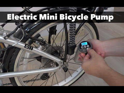 150PSI Bike Electric Inflator Bicycle Cycle Tire Air Pressure Pump H0E3