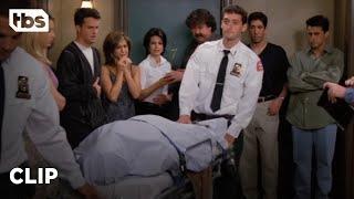 Friends: Mr. Heckles Dies (Season 2 Clip) | TBS