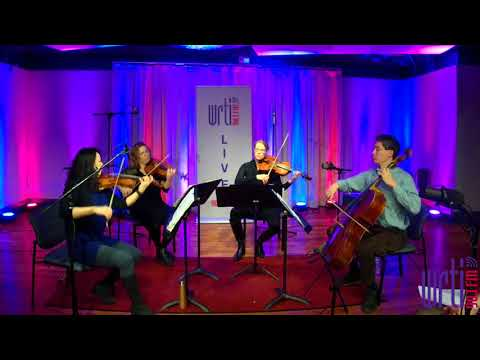 Live from the WRTI 90.1 Performance Studio: Daedalus Quartet plays Beethoven's String Quartet Op. 18