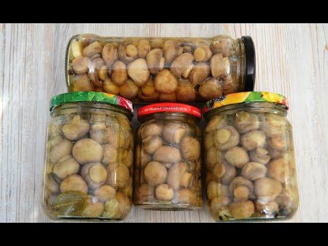 Маринованные шампиньоны. Самый лучший рецепт маринованных грибов!