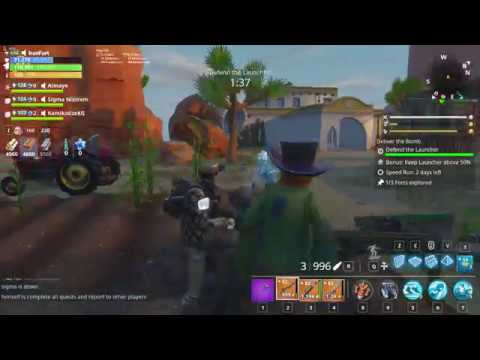 How to Explore Forts in 58+ Ghost Town Zone fortnite save the world