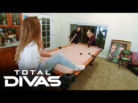 Ronda Rousey, Sonya Deville And Natalya Play A High-stakes Game Of Pool: Total Divas Preview Clip