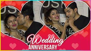 Gurmeet Choudhary KISS Debina Bonnerjee And Celebrate Marriage Anniversary On Valentines Day
