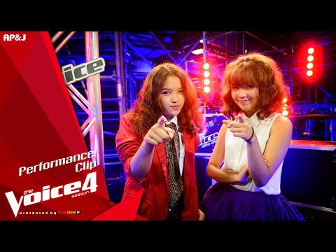 The Voice Thailand - พลอย VS นุ่น - รักคือฝันไป - 1 Nov 2015