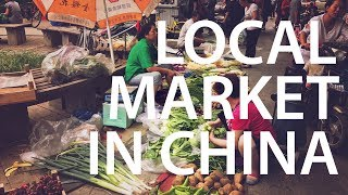 LOCAL MARKET IN CHINA // BUYING GROCERIES & A TRADITIONAL TIANJIN BREAKFAST // MOVING TO CHINA