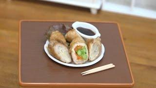 MiniFood Meat roll 食べれるミニチュア肉巻き