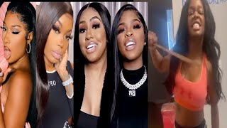 Asian Doll vs Meg & The city girls+Azealia Banks lists VooDoo Victims+Vanessa's Mom Defends Lawsuit