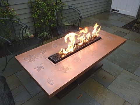 Magnificent Fire Pit Dining Table Youtube