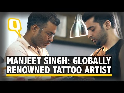 India's Manjeet Singh: One of the Best Tattoo Artists Globally