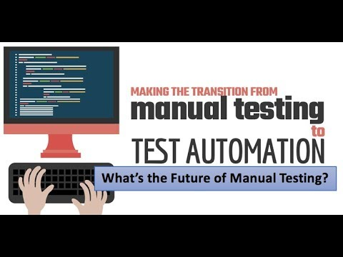 The Present And Future Of Manual Testing || Scope Of Automation Testing
