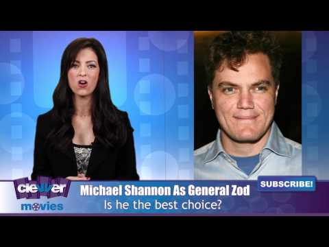 "Michael Shannon To Play ""General Zod"" In"