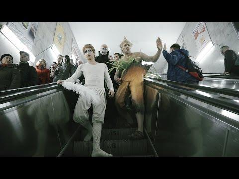 Артисты Cirque du Soleil устроили флешмоб в Минске