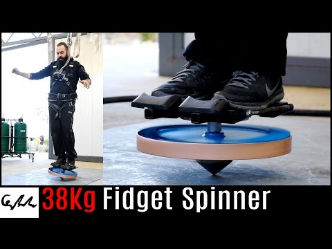 Thumbnail: Extremely heavy fidget spinner