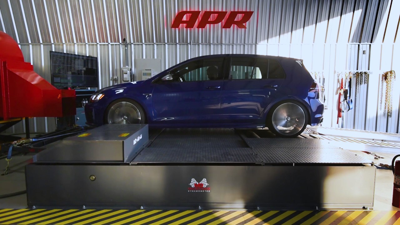 Apr Stage 3 104 Mk7 Golf R Dyno And Graph Youtube
