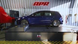 APR Stage 3+ (104) MK7 Golf R Dyno and Graph