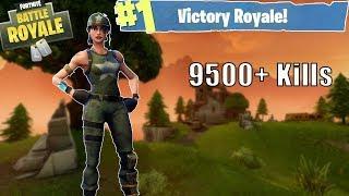 Fortnite | GETTING CLOSE TO 10,000 KILLS! High KILL gameplay!