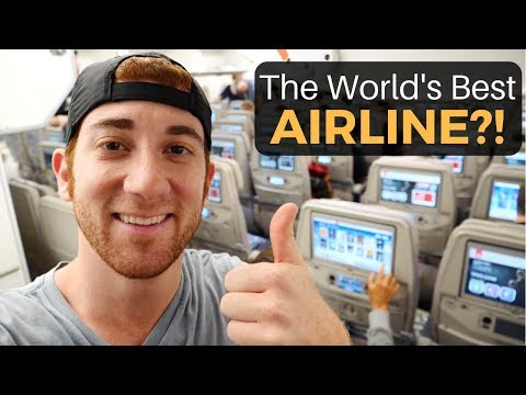 The World's Best AIRLINE?! (Emirates)