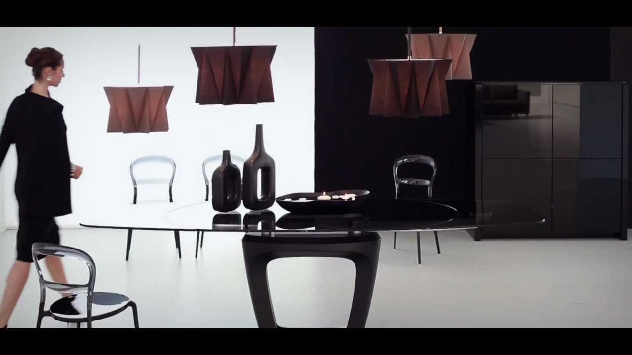 Tavolo orbital di calligaris by pininfarina youtube for Tavolo cristallo allungabile calligaris