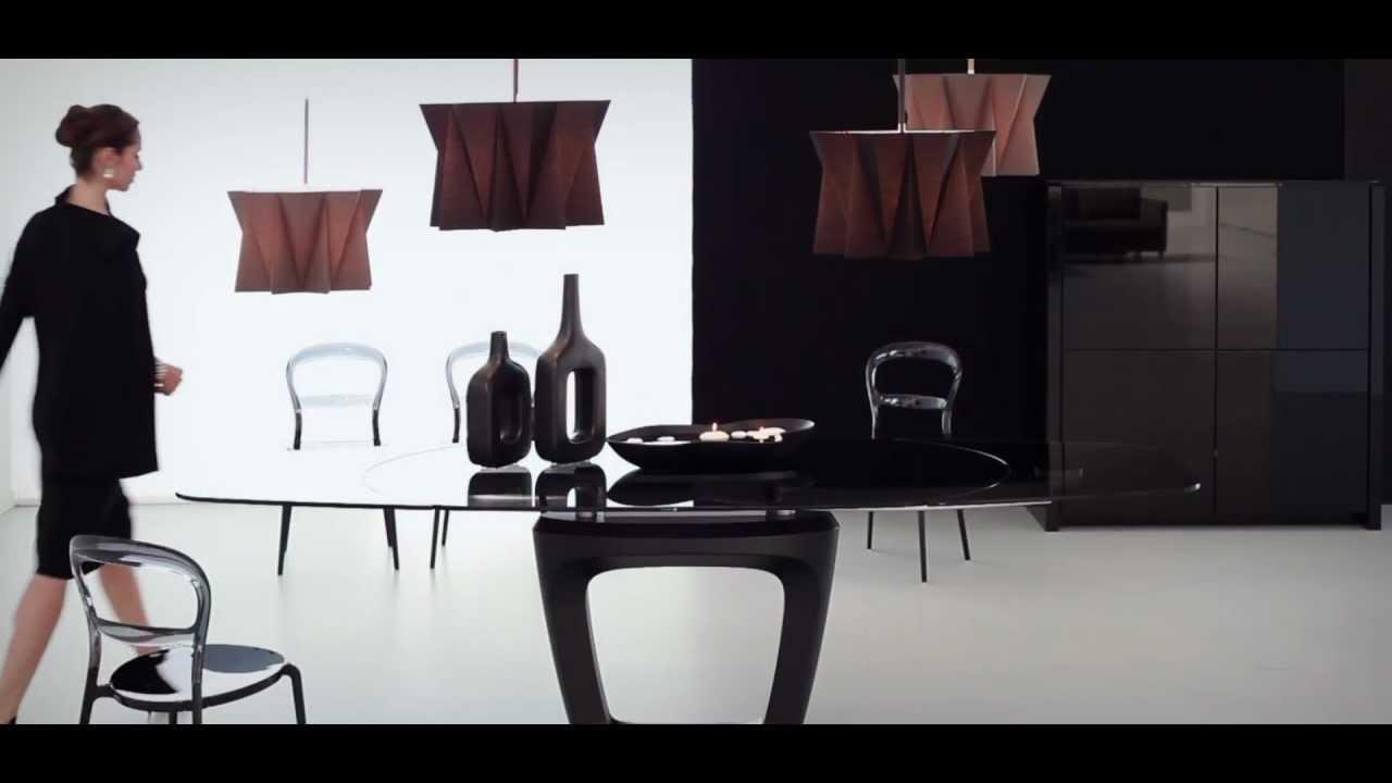 Tavolo orbital di calligaris by pininfarina youtube for Gf arredamenti