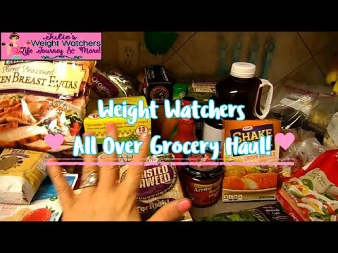 Weight Watchers All Over Grocery Haul!